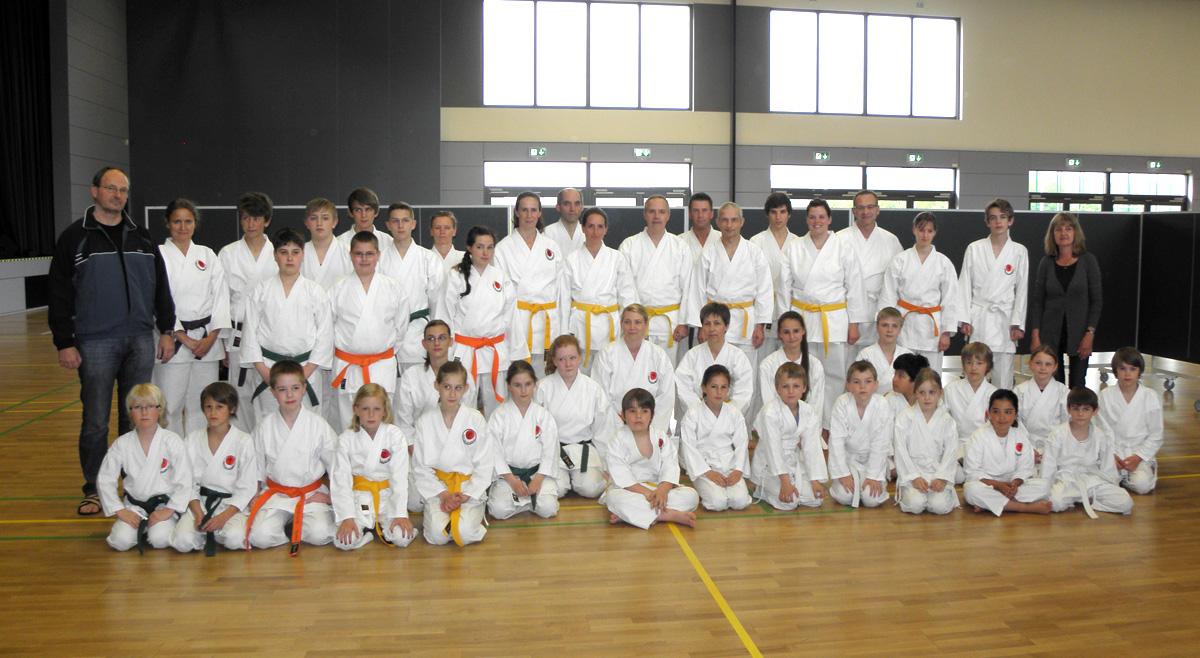 Kyu-Prüfungen Am 14. Mai 2013