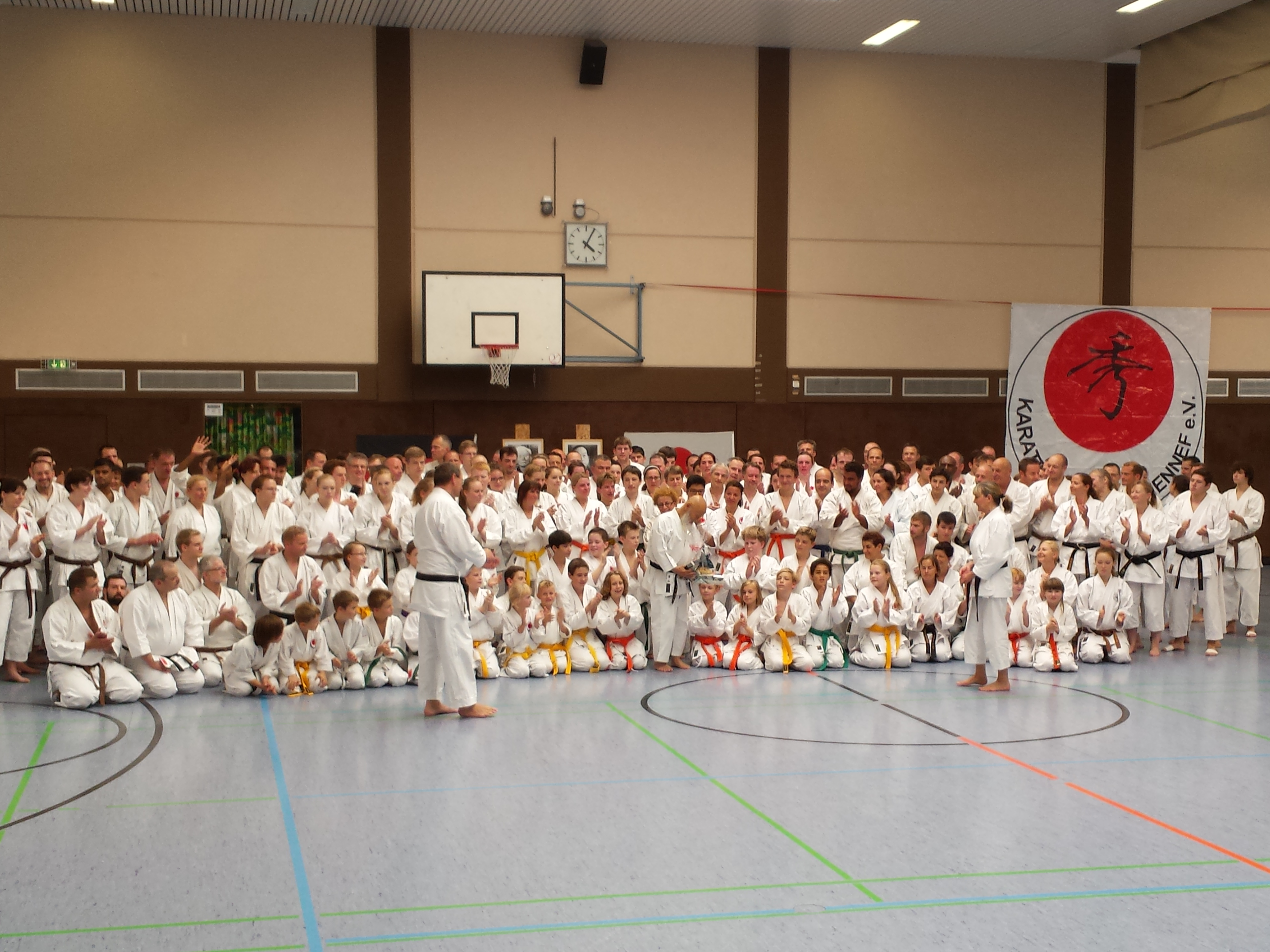 Lehrgang Mit Sensei Hideo Ochi In Hennef