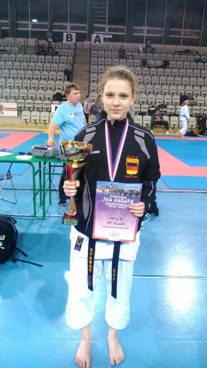 Diana Volk Erfolgreich Bei Der EM-Junioren/Senioren In Prag