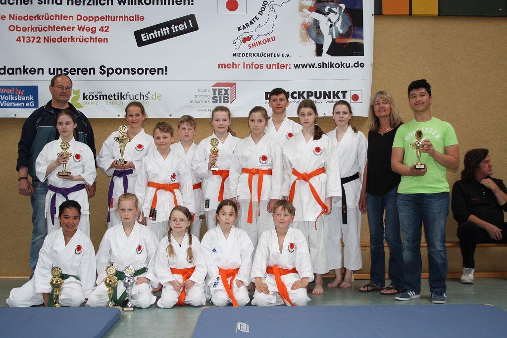 Erfolgreiche Teilnahme An Der Westdeutschen Meisterschaft 2015