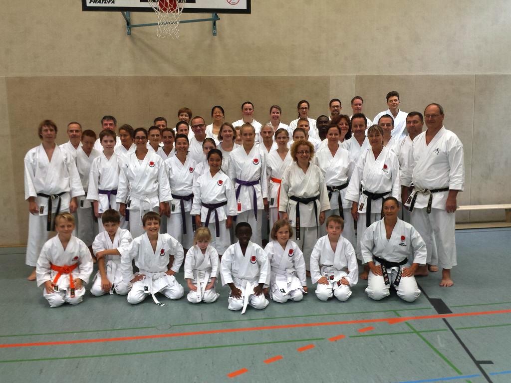 15-jähriges Vereinsjubiläum & Trainingslehrgang Mit Sensei Mirjam Widmer