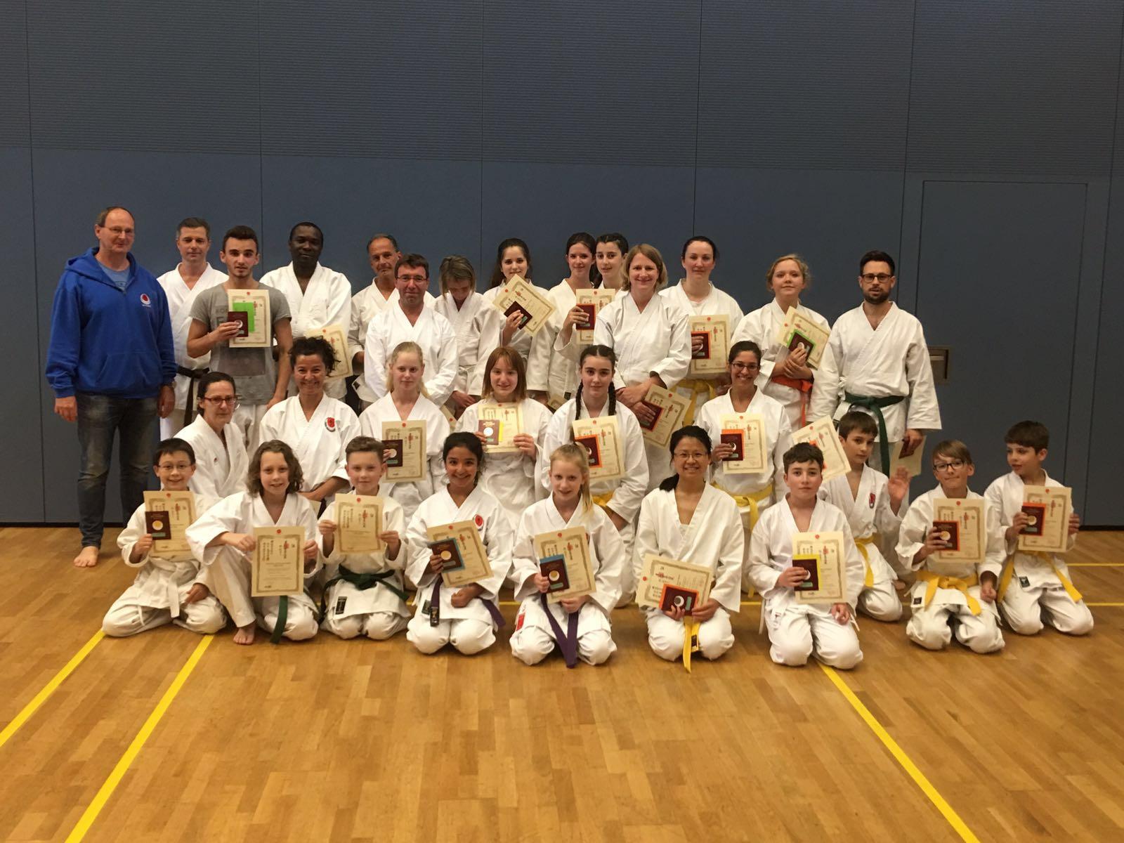 Gürtelprüfungen Im Karate Dojo Ochi Hennef E.V.