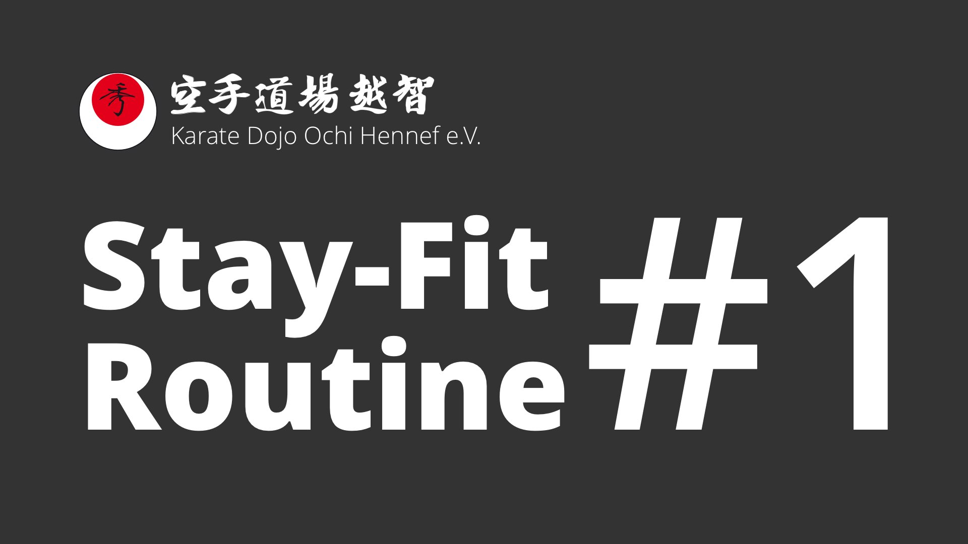 1. Stay-Fit-Routine