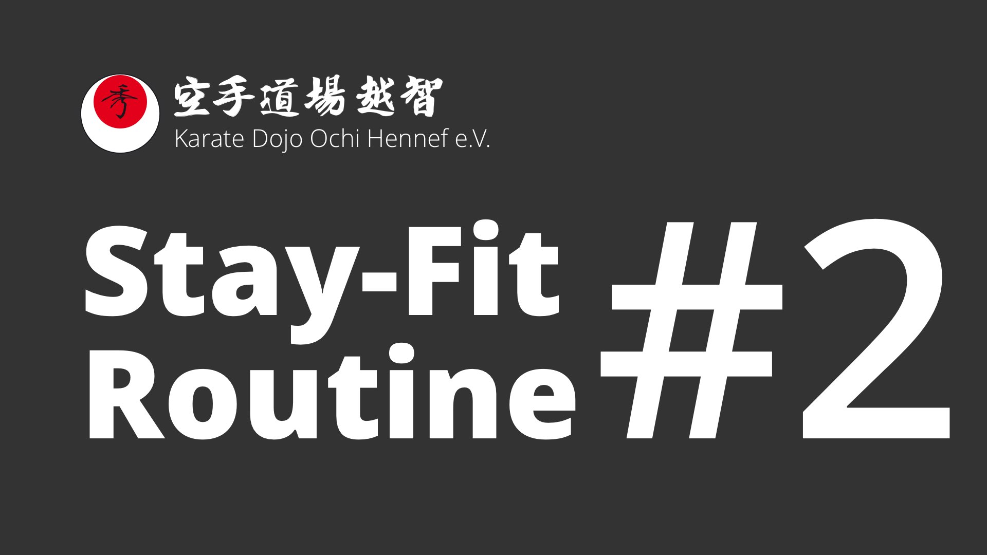 2. Stay-Fit-Routine